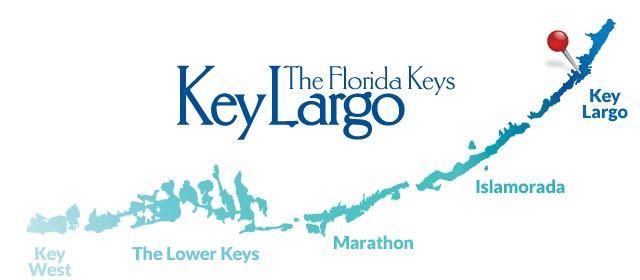 Car Service Key Largo Map